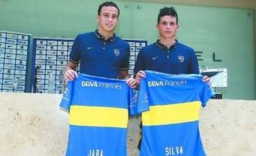Leonardo Jara y Jonathan Silva, las caras nuevas de Boca