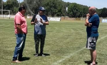 Gustavo Guerra, secretario ejecutivo del APreViDe estuvo en Saladillo