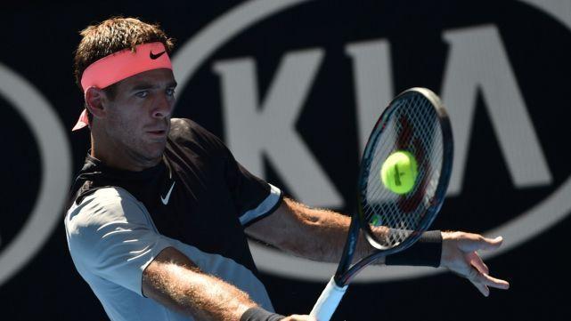 Tras duras batallas, Kicker y Del Potro avanzaron a la tercera ronda en Australia