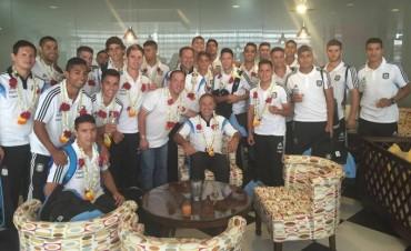El Vasco Olarticoechea está en India con la selección Sub23