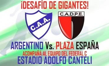 Desafío de Gigantes: Argentino (S) recibe este jueves a Plaza España (25)