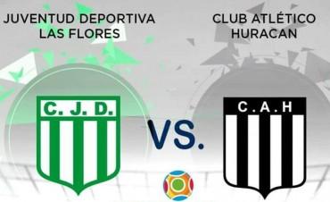 Huracán juega hoy ante Juventud Deportiva en Las Flores