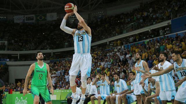 Retiran la camiseta N°13 de la selección argentina de básquet