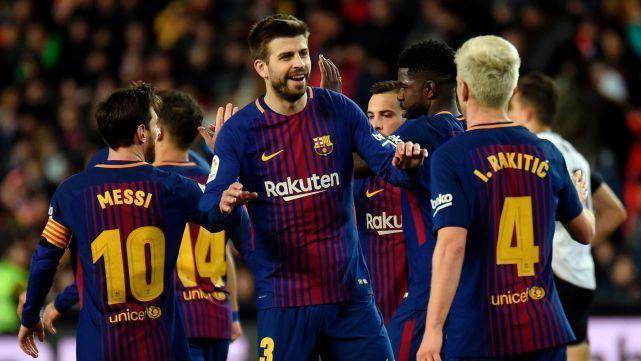 Sin despeinarse, el Barca ganó y es finalista de la Copa del Rey
