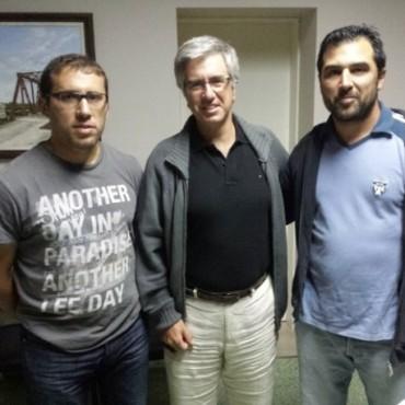 El Club Pampero recibió aporte de Alejandro Armendáriz