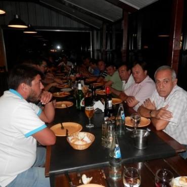 Dirigentes de Boca estuvieron en Saladillo