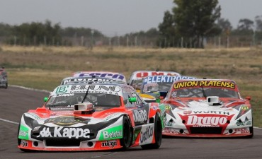 Juan Martín Bruno completó su primera carrera en el TC