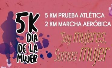 Alcides Zampelunghe ganó los 5K del Día de la Mujer