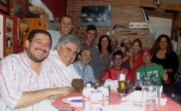 Periodistas locales se reunieron con Juan Martín Bruno