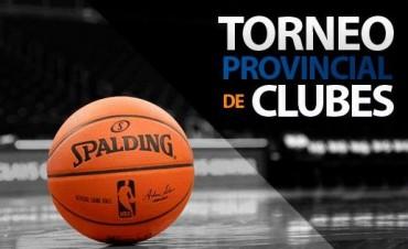Se jugó el primer partido del play off del Provincial de Clubes de basquet