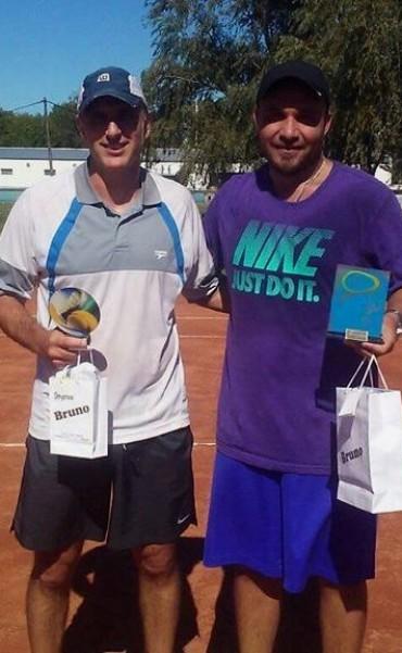 Ariel Ferreyra ganó torneo de tenis en Saladillo