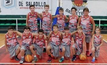 Ciudad de Saladillo le ganó en todas las categorías a Racing de Chivilcoy