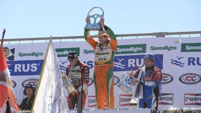 Jonatan Castellano se llevó la victoria en la final del TC