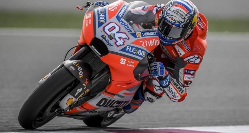 Arrancó el Mundial de Moto GP con podio para Dovizioso
