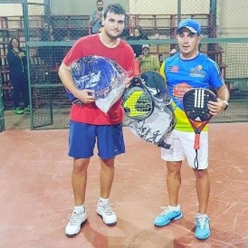 Diego Poggi y Daniel García llegaron a la final del Torneo Power