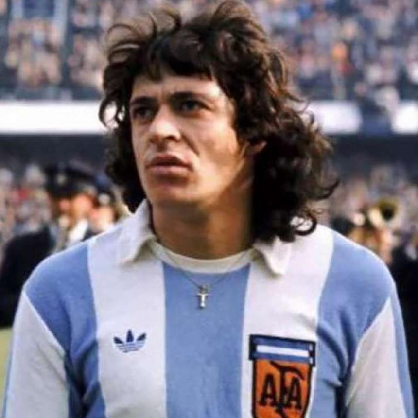 Murió René Orlando Houseman, campeón del mundo en 1978