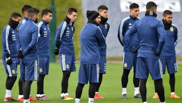 Control antidoping sorpresa para la Selección en Manchester