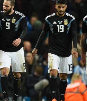 Sin Messi, Argentina venció a Italia en Manchester