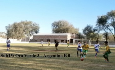 Se desarrolló la tercera fecha Unión Deportiva del Centro