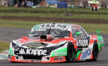Juan Martín Bruno larga en la tercera serie del TC