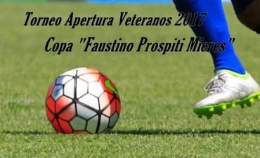 """Quinta fecha del Torneo de Veteranos """"Faustino Mieres"""""""