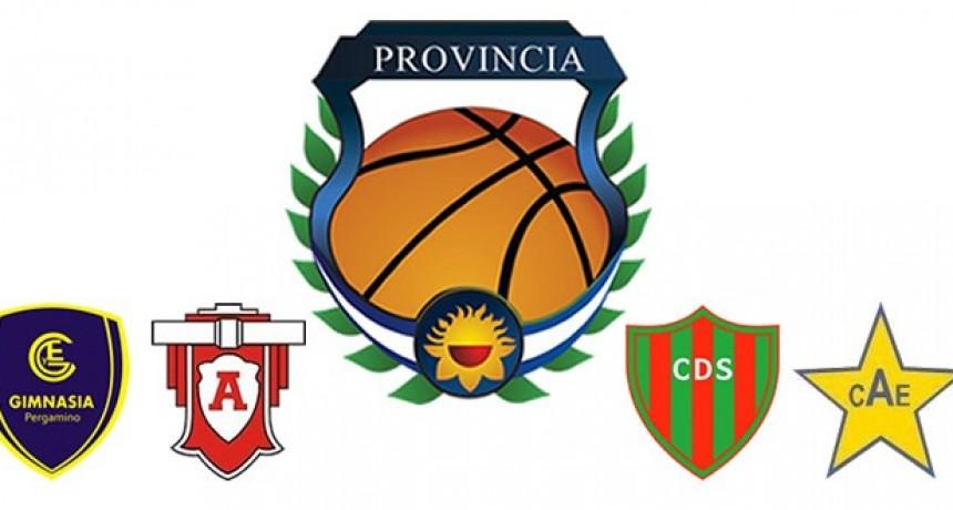 El Final Four del Provincial de clubes se hace en Pergamino