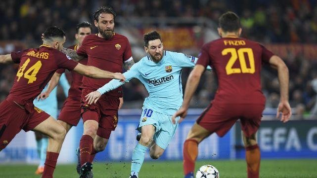 Roma logró la hazaña y dejó afuera al Barcelona
