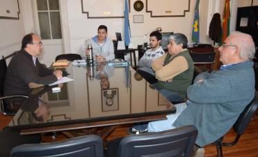 Representantes del ciclismo conversaron con autoridades municipales