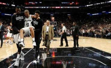 Los Spurs igualaron la serie ante Houston, pero sufrieron un golpe duro