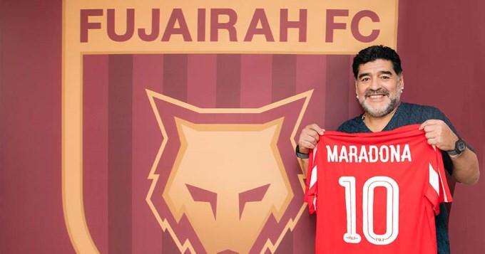 Maradona, DT en Emiratos Árabes: