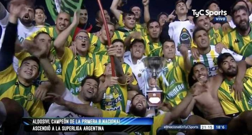 Aldosivi campeón, logró el ascenso a la Superliga