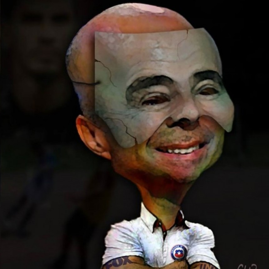 El enojo del padre del Patón Guzmán antes de la lesión de Sergio Romero: hizo una caricatura de Sampaoli con una careta
