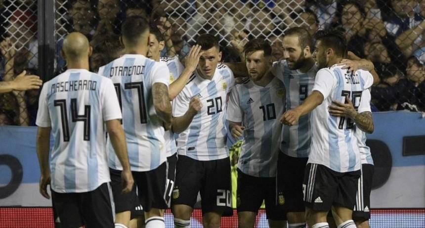 Argentina se despidió con una goleada ante Haití