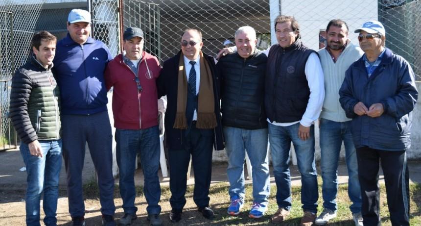 Intendente de Saladillo estuvo en el encuentro de Escuelitas de Fútbol