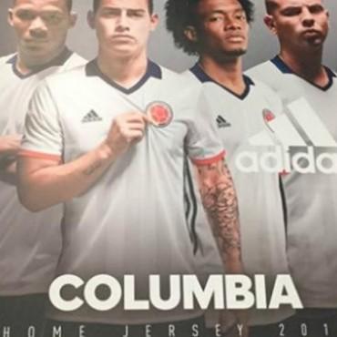Siguen los papelones en la Copa América: ahora, Adidas la pifió con Colombia