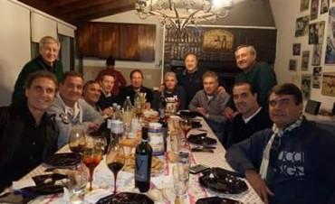 30 años no es nada: Entre empanadas, los campeones del Mundial 86 volvieron a juntarse