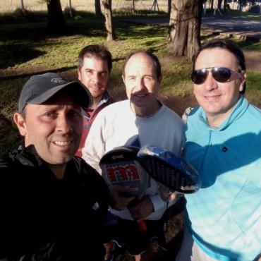 Sport Digital Saladillo se impuso al Círculo de Periodistas al Padel