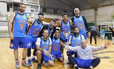 Simios indiscutido campeón del Torneo Apertura de Maxibasquet