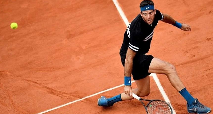 Ganó Del Potro y está en la semifinal de Roland Garros