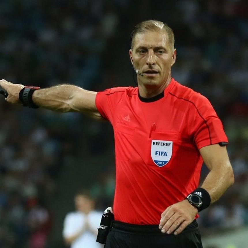 El argentino Pitana fue designado para dirigir el partido inaugural del Mundial Rusia 2018