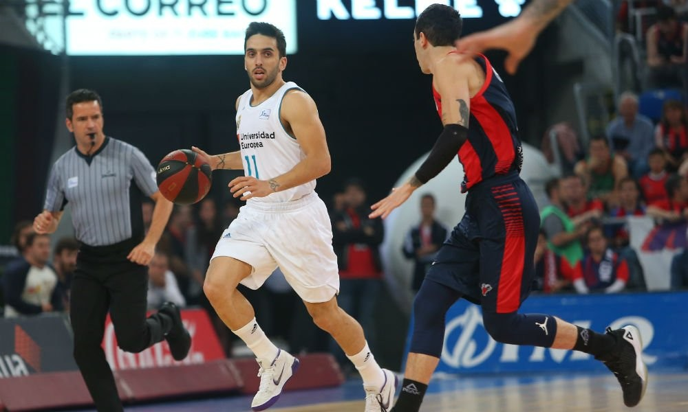 Facundo Campazzo campeon con el Real Madrid