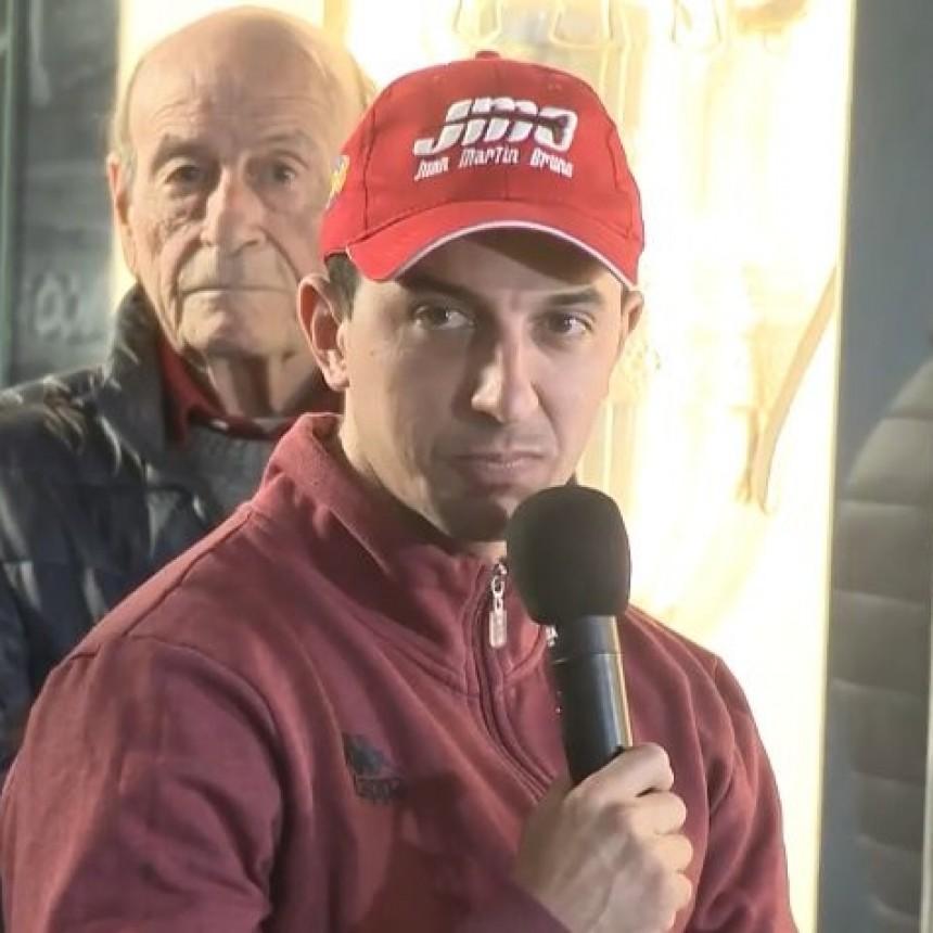 Juan M. Bruno estuvo en la presentación del TC en Olavarría