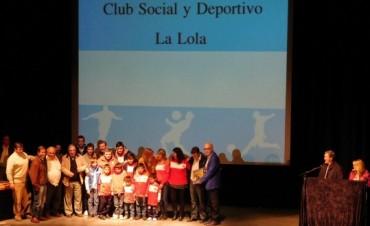 Municipio de Saladillo agasajo a las Instituciones Deportivas