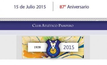 El Club Atlético Pampero de Polvaredas cumplió 87 años