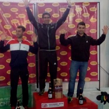Ezequiel Aguilera ocupó el segundo escalón del podio en los 10K Factory