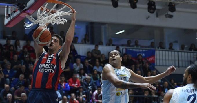 San Lorenzo se adelantó en la serie final ante Regatas