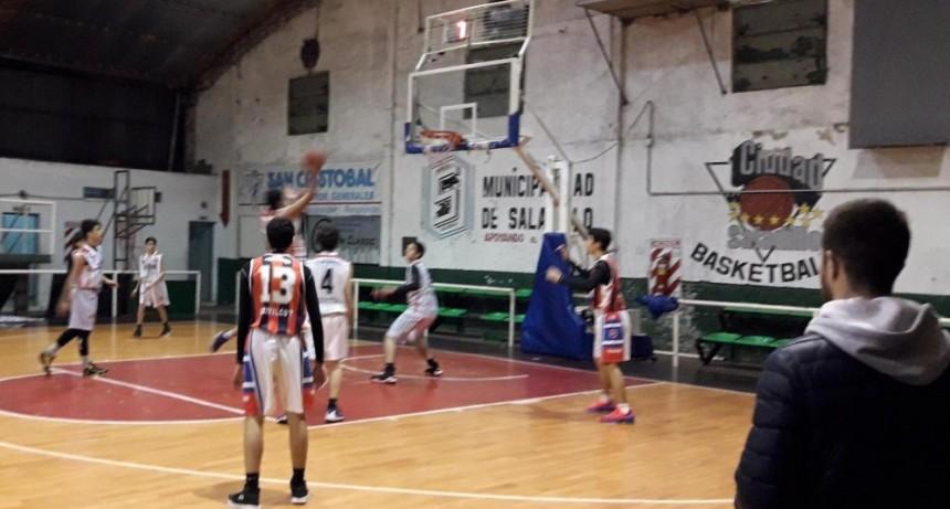 Ciudad jugó por la eliminatoria para el Provincial de clubes sub15