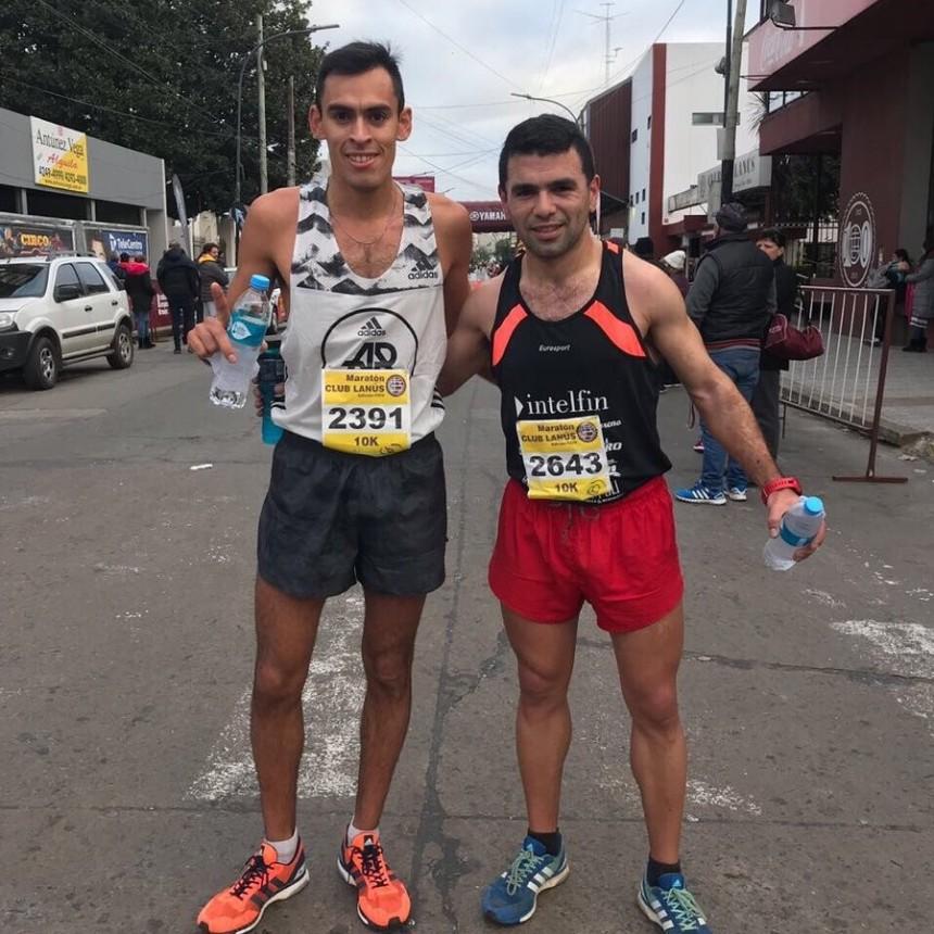 Ezequiel Aguilera fue segundo en la 24° edición de la Maratón de Lanús