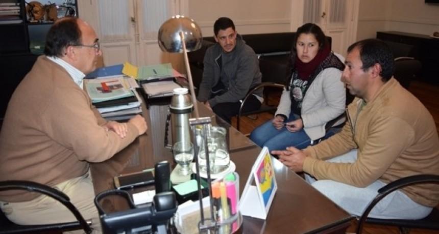 Intendente y Agrupación Ciclista consideraron la realización de obras en el circuito