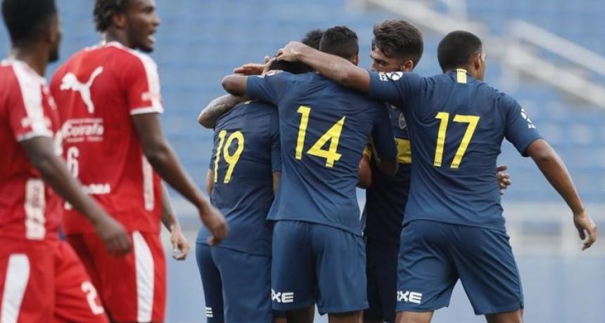 Boca le ganó a Independiente de Medellín por 4 a 2 en un amistoso